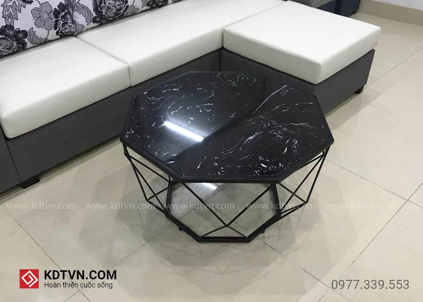 bàn sofa kim cương