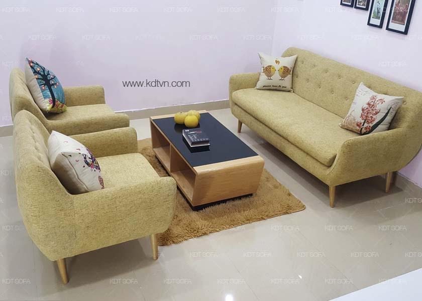 Bộ ghế sofa cho phòng khách nhỏ
