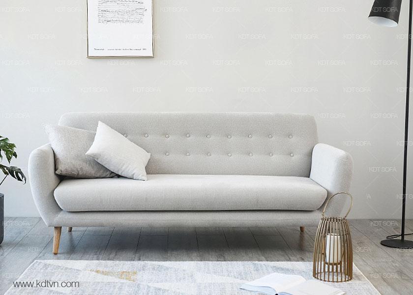 sofa màu ghi trắng kd024