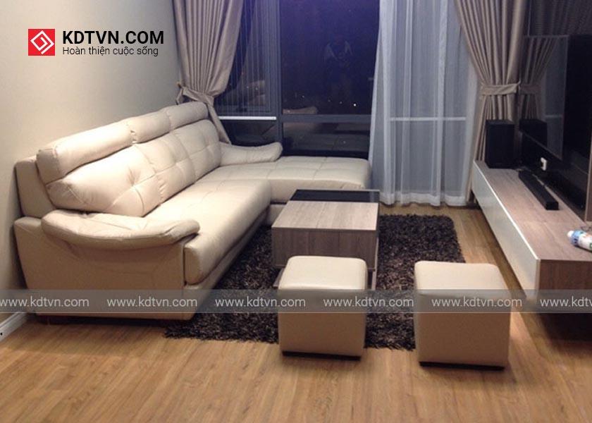 Ghế sofa da cao cấp hiện đại