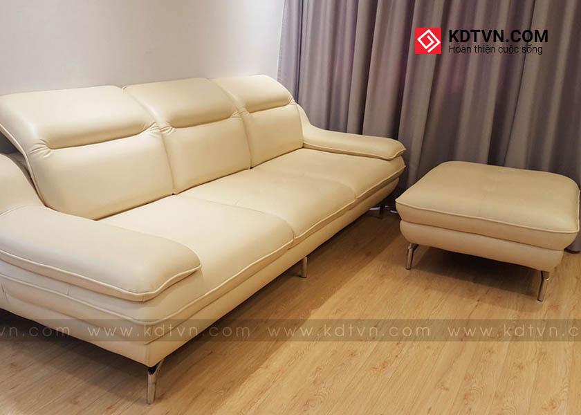 Ghế sofa phòng khách căn hộ chung cư nhỏ hiện đại