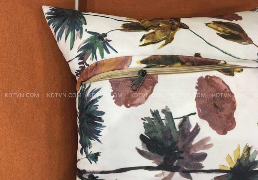 Sofa nỉ phòng khách hiện đại KD025