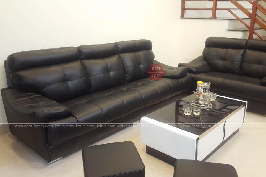 Mẫu sofa da mang phong cách châu âu