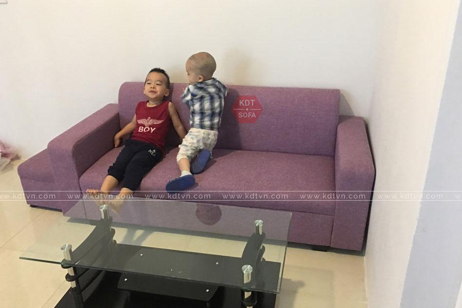 Sofa văng dành cho nhà nghỉ giá rẻ Hà Nội KDT Sofa