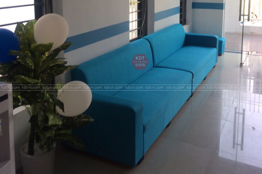 Sofa văng phòng khách nhỏ giá rẻ Hà Nội KDT Sofa
