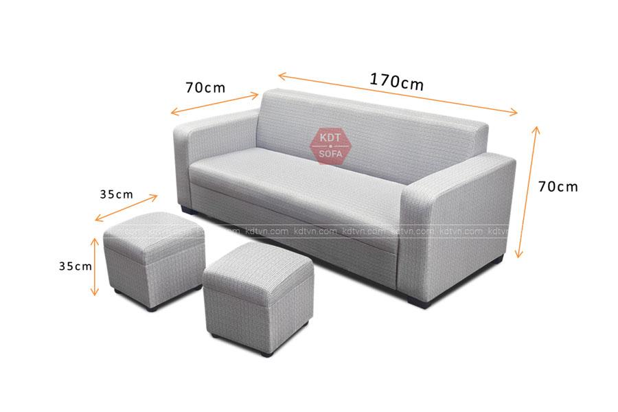 Sofa văng giá rẻ Hà Nội