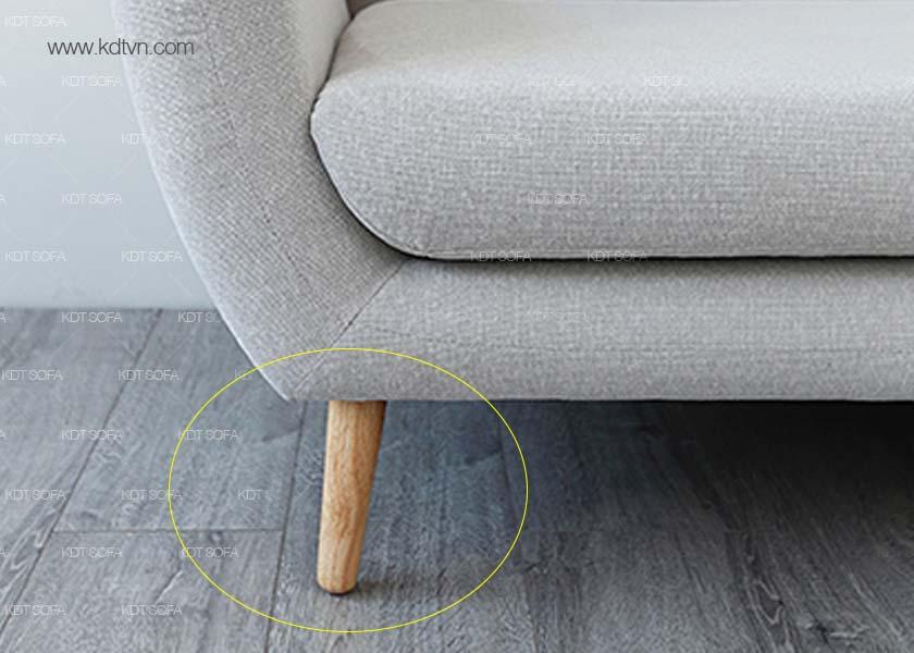 Chân ghế sofa phòng khách