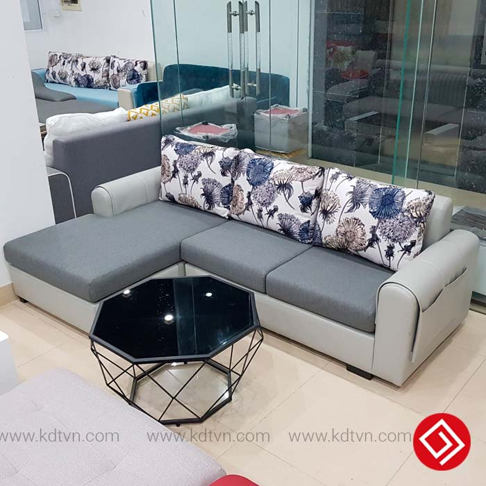 Bộ ghế Sofa nỉ phòng khách giá rẻ KD027