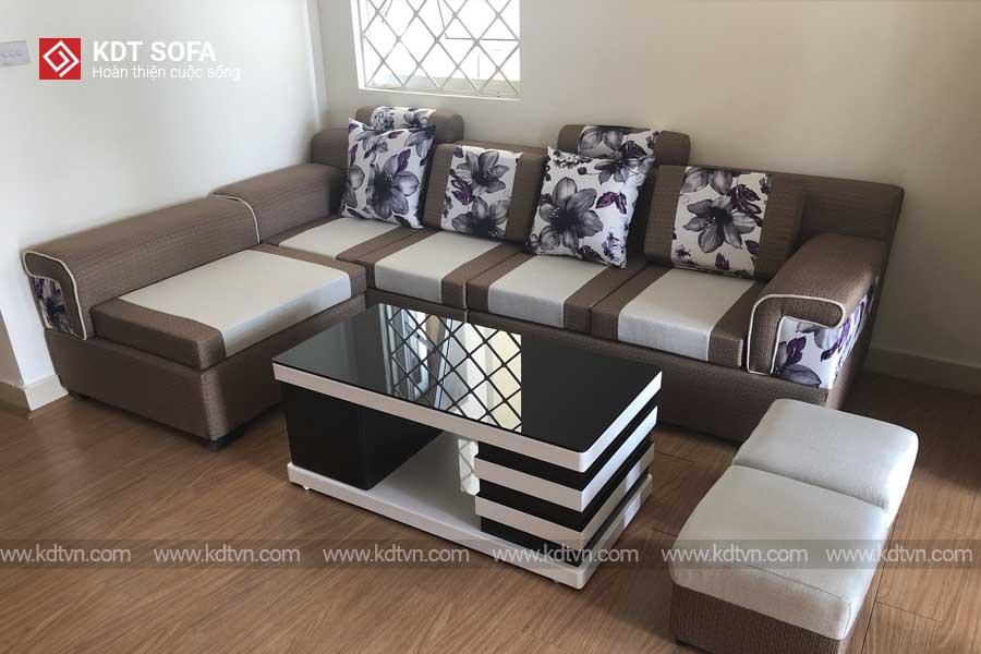 Sofa nỉ đẹp hiện đại giá rẻ
