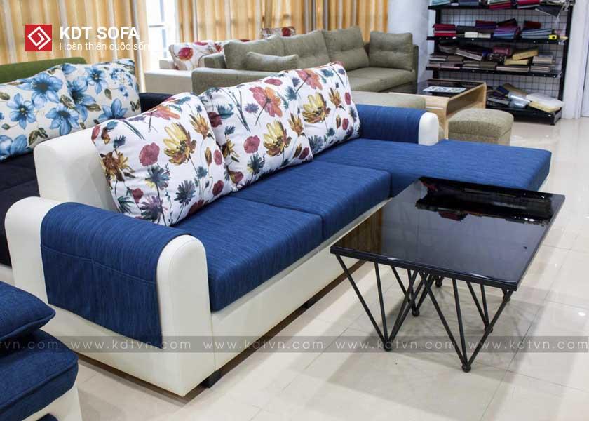 mẫu sofa nỉ phòng khách giá rẻ