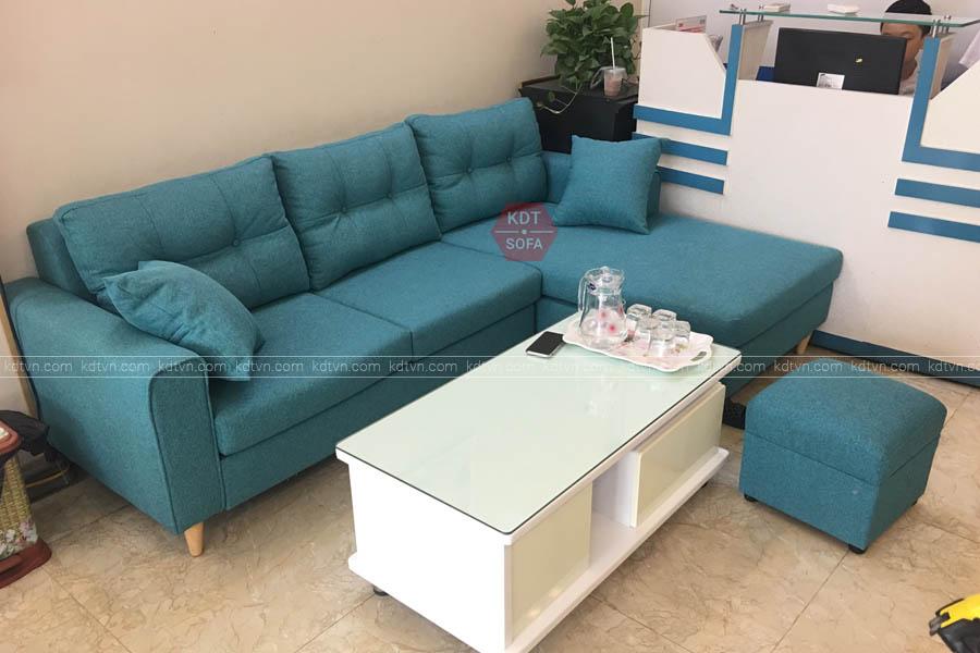 Mẫu ghế sofa góc L giá rẻ tại Hà Nội - KDT Sofa