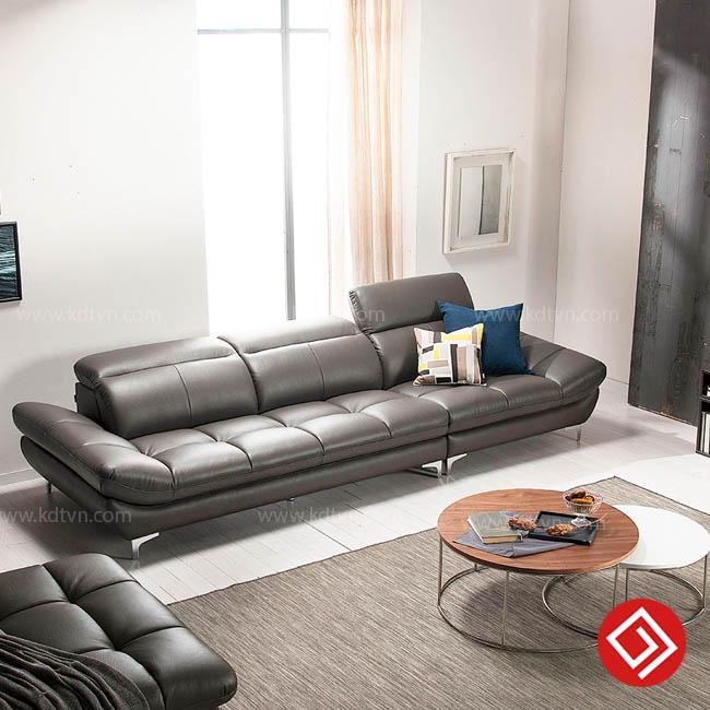 Sofa văng da cao cấp giá rẻ KD199V