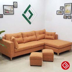 Sofa nỉ cho phòng khách nhỏ KD031