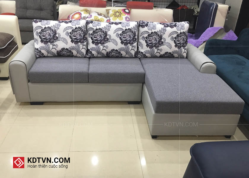 sofa nỉ mã kd027 kdt sofa