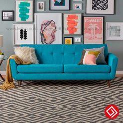 Sofa văng nỉ hiện đại gái rẻ KD194
