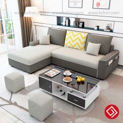 Sofa nỉ cho phòng khách nhỏ hẹp