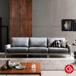 Sofa nỉ giá rẻ cho phòng khách KD032