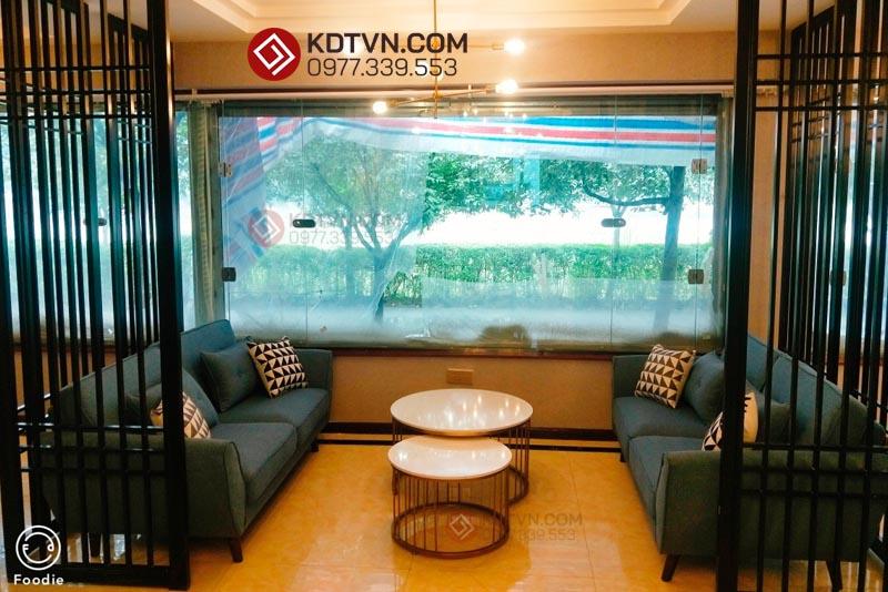 Sofa văng quán cafe