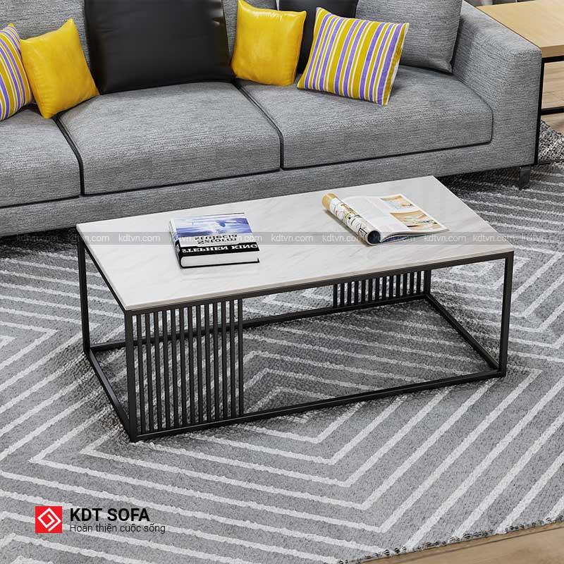 Bàn Sofa hình chữ nhật màu đen đẹp giá rẻ