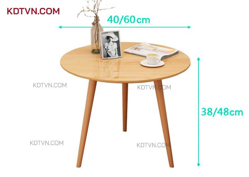 Kích thước bàn trà B22a