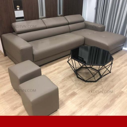 Sofa da cao cấp hiện đại