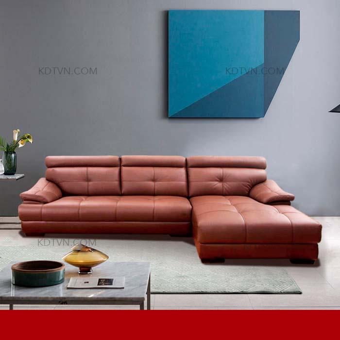 Sofa da cao cấp kd208