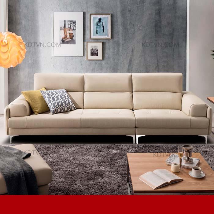 Sofa văng da hiện đại kd185