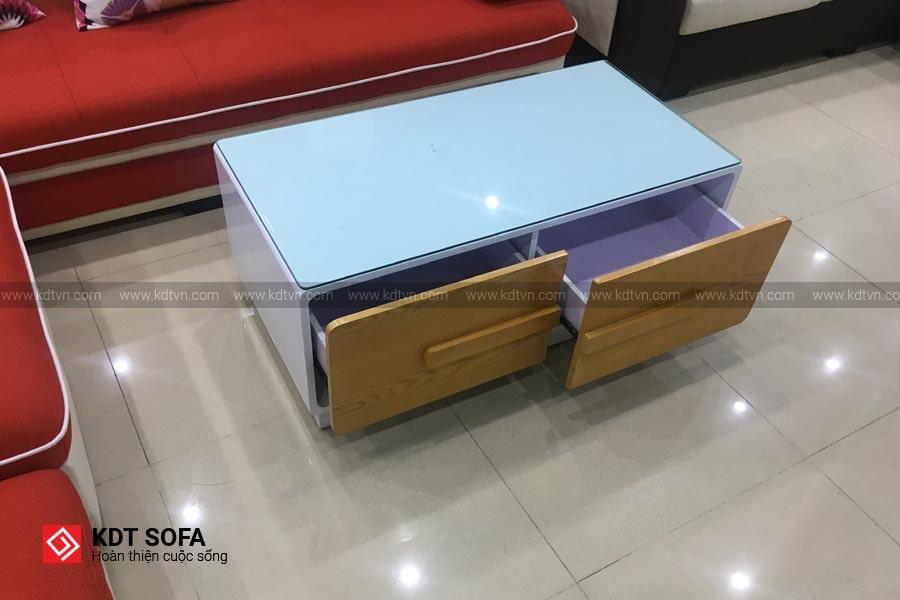 bàn sofa 2 màu sắc