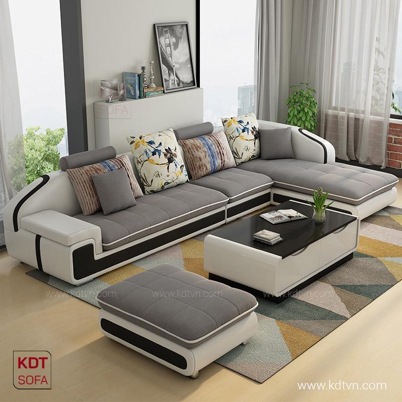 Sofa cho nha rong nhieu nguoi ngoi KD028