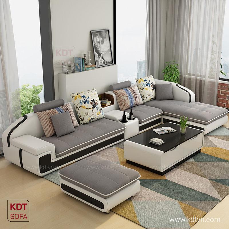 Sofa cho phòng khách rộng hiện đại