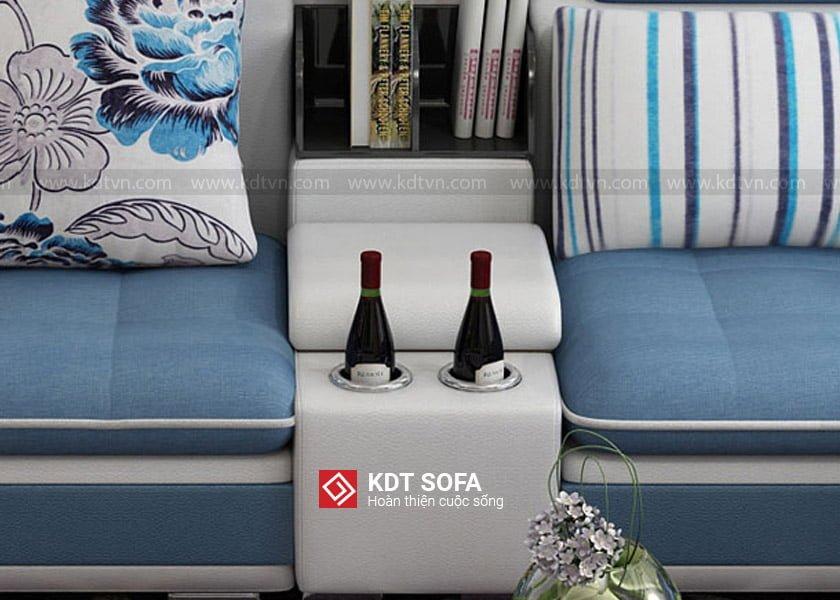 Sofa nỉ phòng khách sang trọng