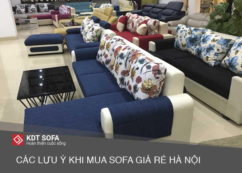 Chọn mua ghế sofa giá rẻ tại đâu Hà Nội?
