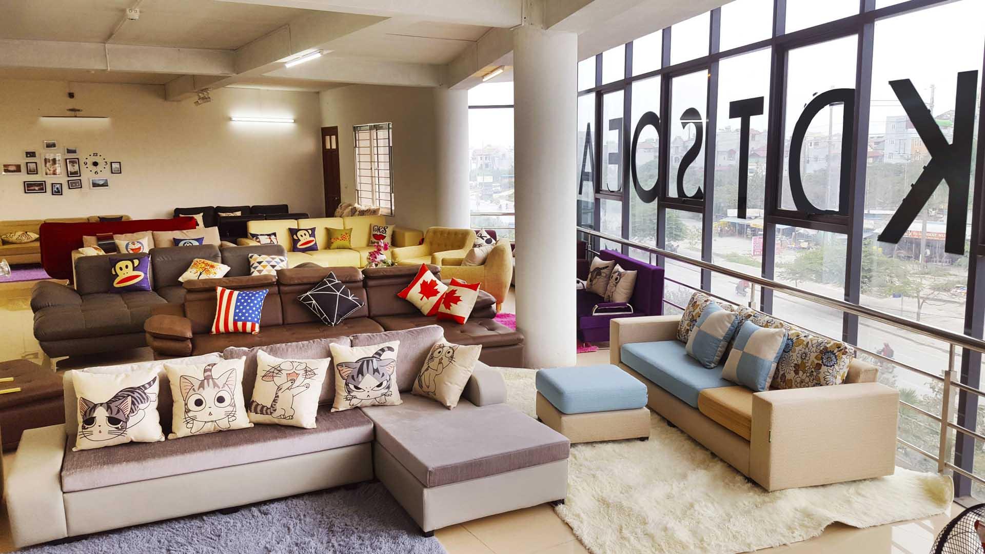 Cửa hàng bán sofa