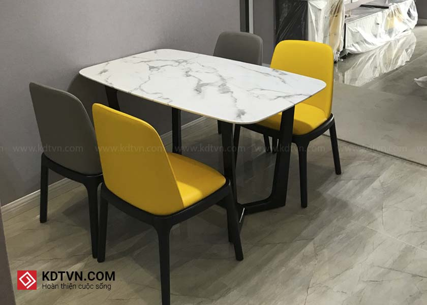 Bộ bàn ăn 4 ghế hiện đại a KDBA01 KDTVN