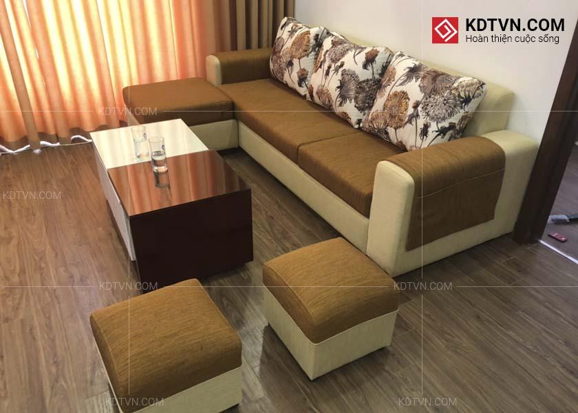 Chọn màu sofa chung cư