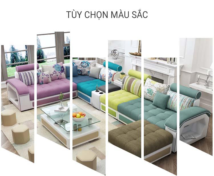 Tùy chọn màu sắc sofa KD029