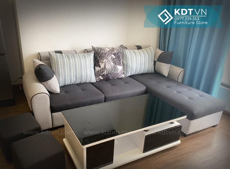 Sofa nỉ chung cư