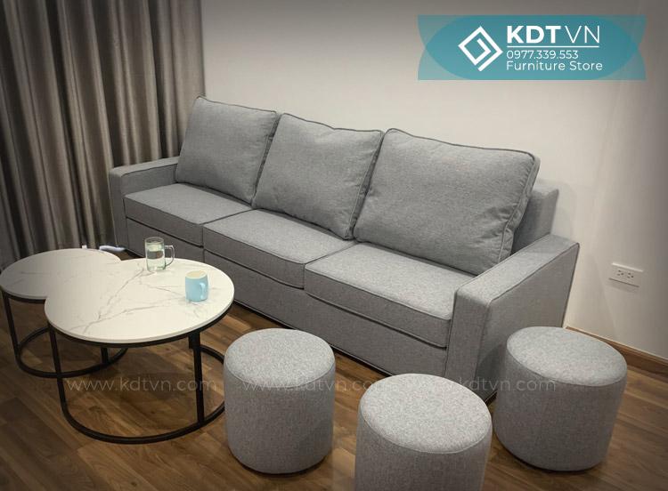Sofa văng dài chung cư