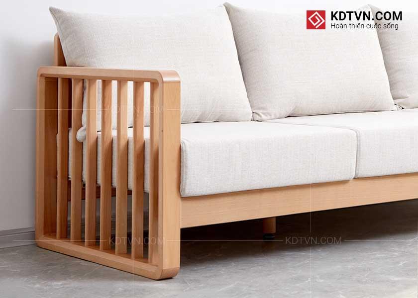 Sofa gỗ đẹp hiện đại