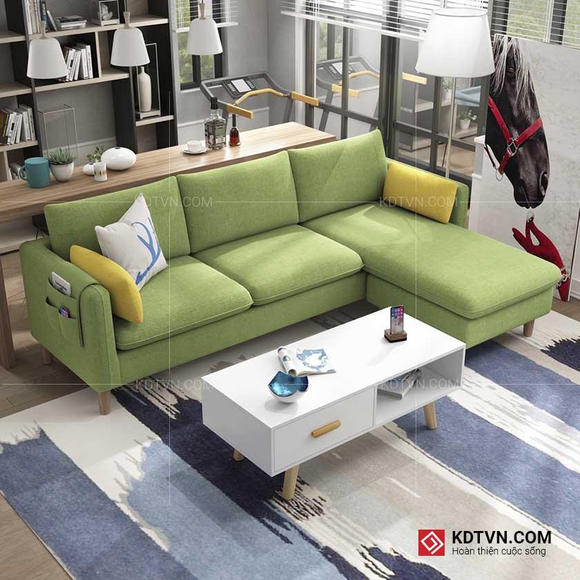 Mẫu sofa cho nhà nhỏ giá rẻ KD034