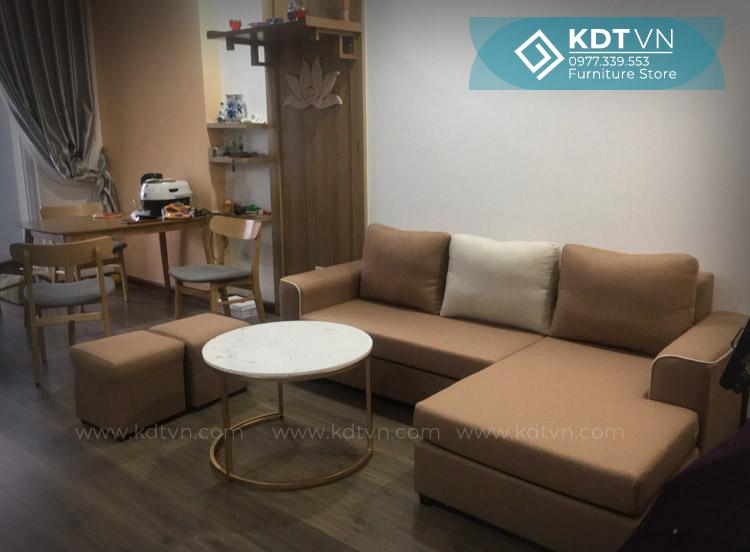 Sofa chung cư hiện đại