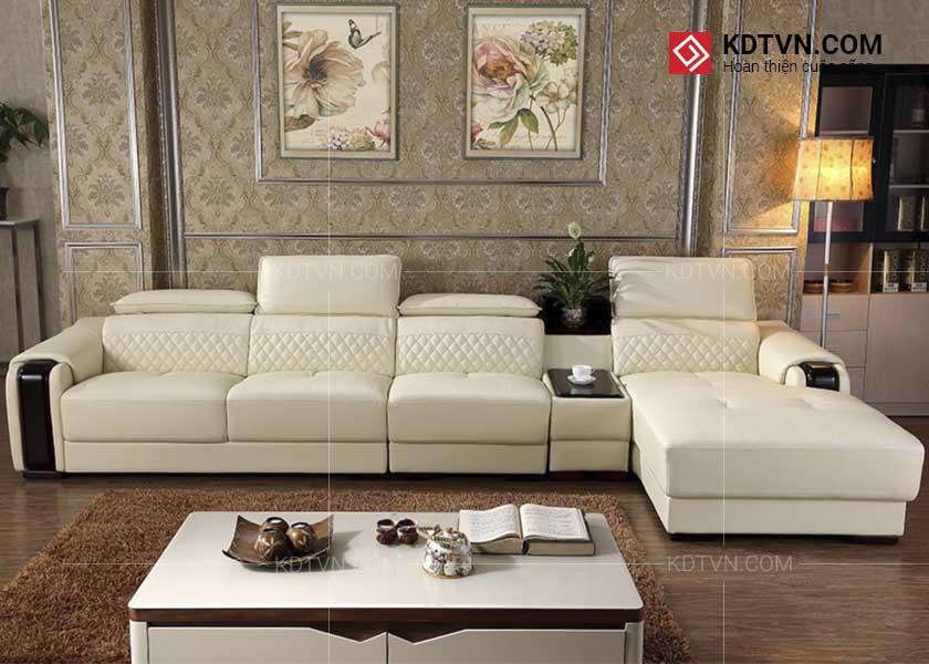 Sofa da góc hiện đại giá rẻ