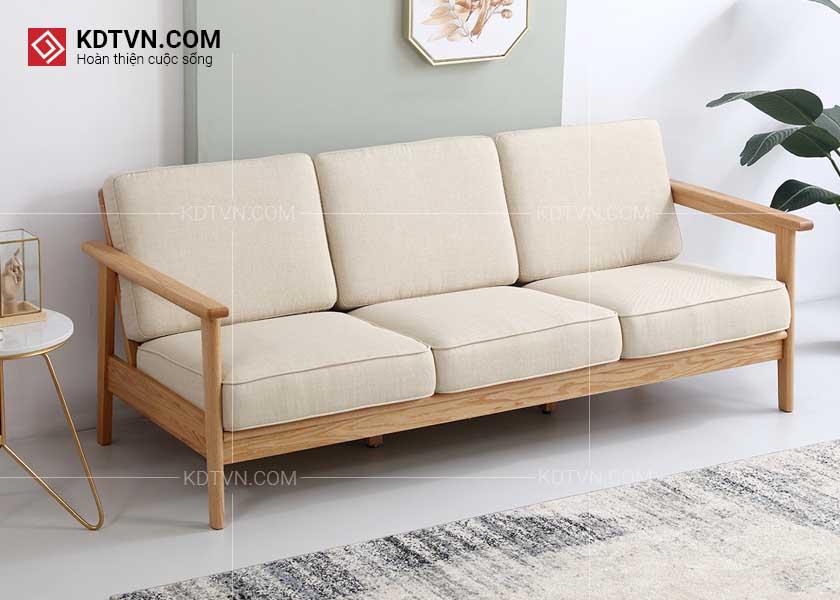 Ghế sofa gỗ hiện đại