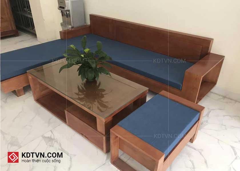 Ghế sofa gỗ hương