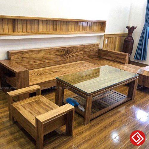 Sofa gỗ Hương Xám KD508