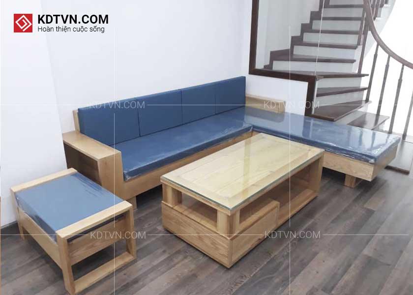 Ghế sofa gỗ tinh tế