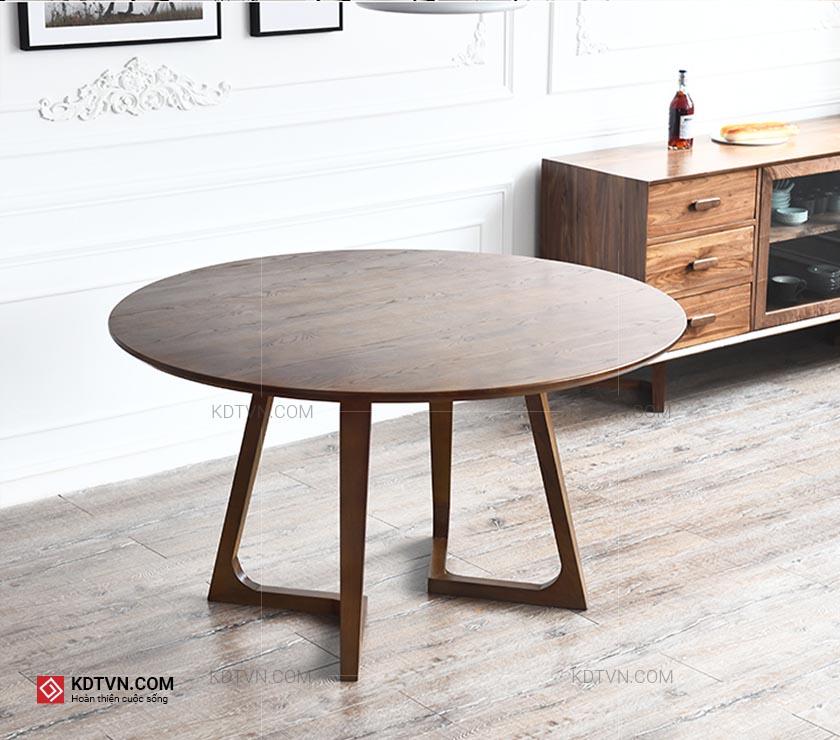 Bộ bàn ăn hình tròn