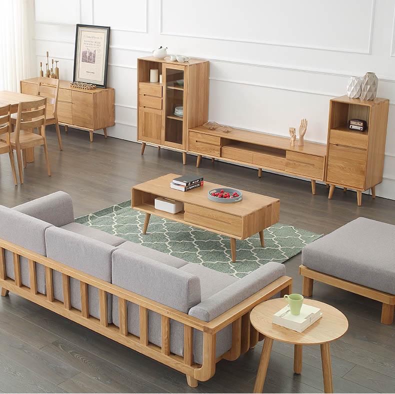 combo nội thất bàn trà, sofa, kệ tivi, bàn ăn, tủ để đồ