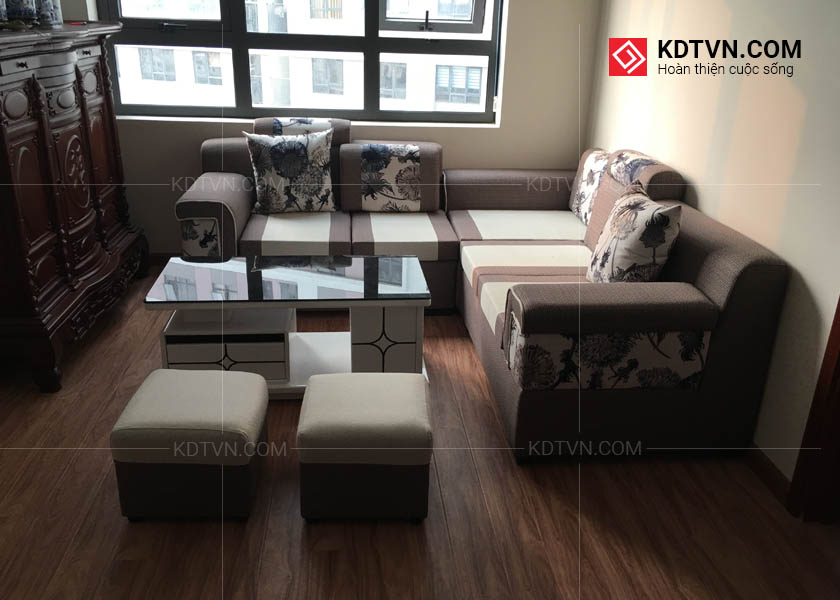 Ghế sofa chung cư bộ công an