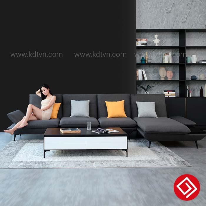 Mẫu sofa góc hiện đại KD250